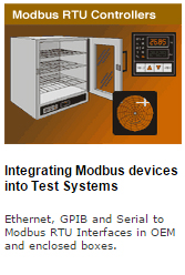Modbus interfaces