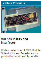 vxi bus interface card and vxi module shield kits